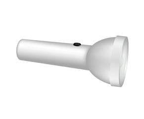 Flashlight in light design