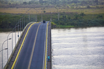 Acess from Iguape to Ilha Comprida