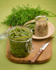 Green Beans with Fennel