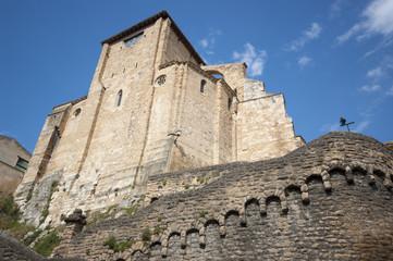 Church of Estella.Navarre.Spain