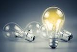 Glowing lamp