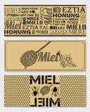 Etiquettes Miel