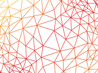 Rumpled triangular low poly mesh texture vector
