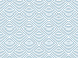 Curvy waves repetitive pattern vector texture background poster