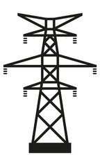 Strommast Groß