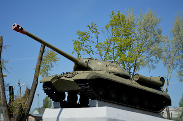 Танк Сталина /ИС/
