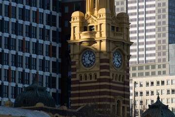 Flinders Street Station Clock, Melbourne