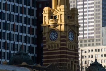 Flinders Street Station Clock, Melbourne