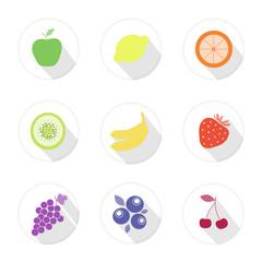 fruit web icons