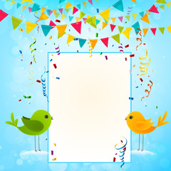 party and celebration background