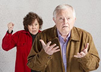 Confused Senior Male