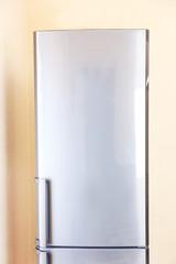 Two door gray refrigerator
