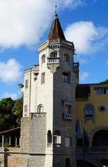 Conde Castro Guimaraes castle, Cascais, Portugal