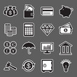 Finance sticker icon