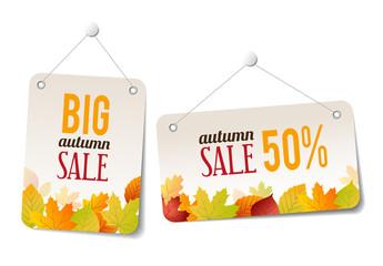 Autumn Sales Stickers - Labels