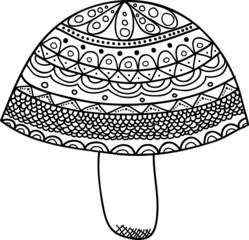 Vectors Abstract Mushroom