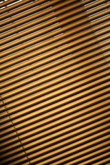 Closed metal jalousie background