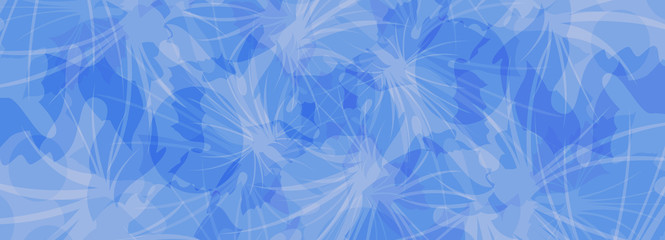 abstract blue background banner