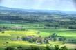 canvas print picture - Blick ins Coburger Land