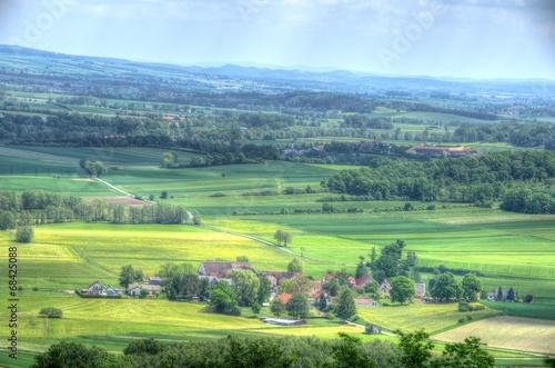canvas print picture Blick ins Coburger Land