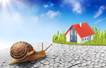 search for a new home - improvement real estate concept
