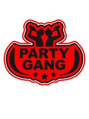 Party Gang Alkohol Bier Trinken Saufen