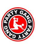 Party Gang Alcohol Sex Beer Fuck Porn Stamp poster