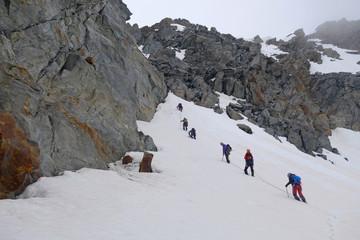 Alpinisme - cordées