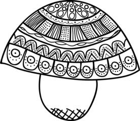 Vectors Abstract Mushroom 2.0