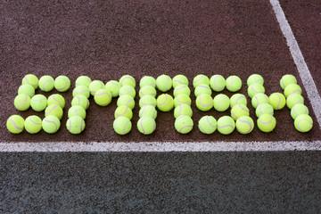 Tennis Smash Shot