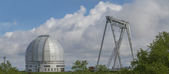 Башня БТА САО РАН. Лето