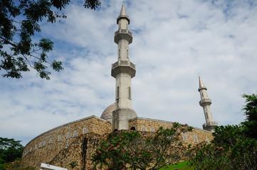 Minaret of Al Muhajirin Mosque