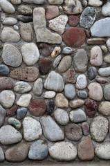 Фон – стена из красивых булыжников