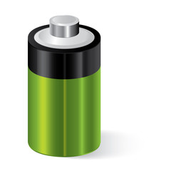 Battery icon, energy concept