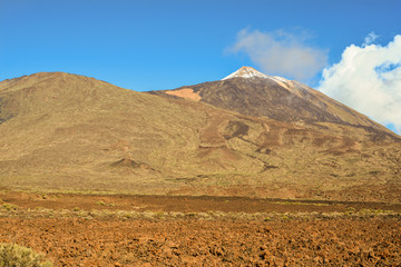 Vulkan Teide und Caldera Las Canadas auf Teneriffa