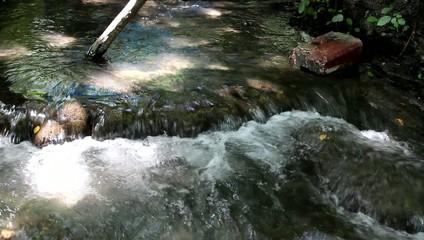 River in the forest in Nabran Azerbaijan