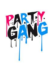 Logo Party Gang Graffiti