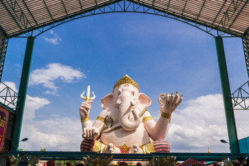 statue of ganesha in Thailand temple