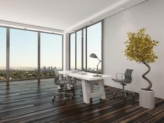 Modern home office interior design
