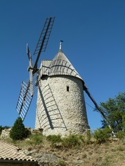 Le moulin de Cucugnan, France