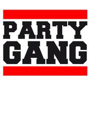 Logo Design Party Gang