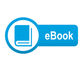 Etiqueta tipo app azul alargada eBook