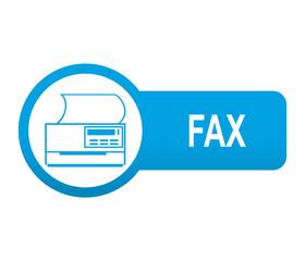 Etiqueta tipo app azul alargada FAX
