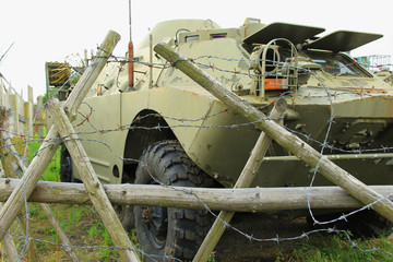 military combat vehicle