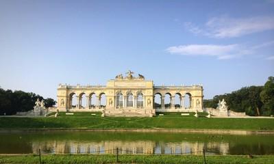 gloriette schonbrunn in vienna
