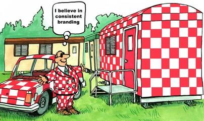 'I believe in consistent branding.'