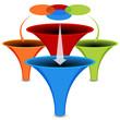3d Venn Diagram Funnel Chart