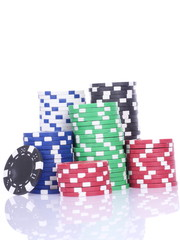 poker casino chips