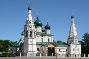 The church of Iliay the Prophet. Yaroslavl. Russia