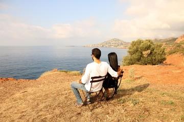 vue panoramique en amoureux